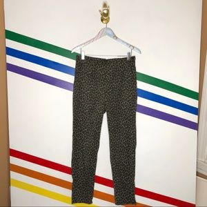NEW Urban Renewal cheetah pin up pants